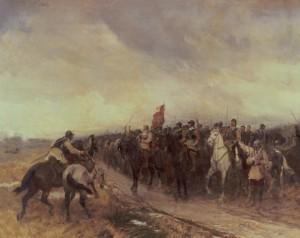 Oliver Cromwell, Battle of Dunbar, Scotland, 1650