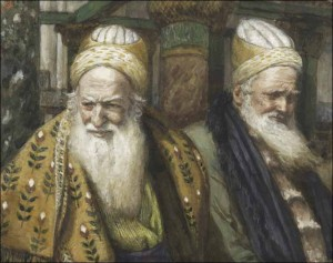 Annas and High Priest Caiaphas, Murderers of Yeshua the Messiah, 32 AD