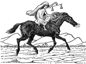 Cartoon-Third-Rider-Black-Horse