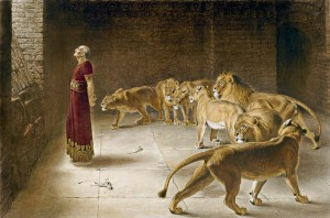Daniel in the Lions' Den, 6th Century BC