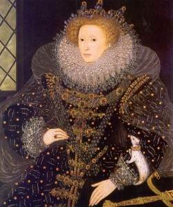 Elizabeth I, Protestant Queen of England, Enemy of the Jesuits, 1588