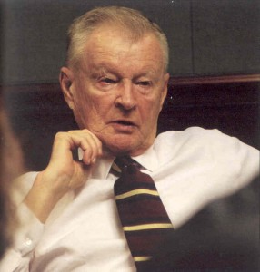 Freemason Zbigniew Brzezinski, CFR , New York City, 2004