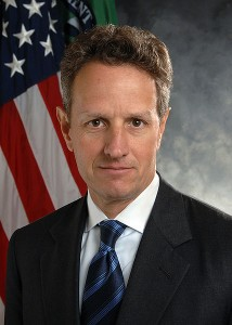 Timothy Geithner, Secretary of the Treasury, 2010