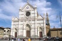 "Roman Catholic Church in Florence: 666 Hexagram with ""IHS"" in the Center"