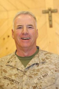 Jesuit: Naval Lt. Commander Paul J. Shaughnessy, Iraq, 2008