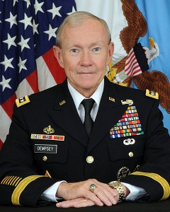 Knight of Malta: US Army General Martin E. Dempsy, Chairman, Joint Chiefs of Staff, 2011