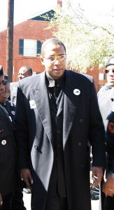 Freemason Shabazz: Chairman of New Black Panther Party; Inciting Black-on-White Race War for Jesuit Papacy