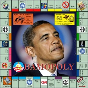 Obama Monopoly Game, 2010