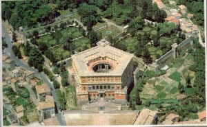 Pentagon-Shaped Farnese Villa, Caprarola, Italy