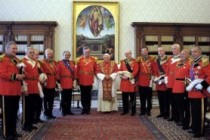 Pope Benedict Meets with Matthew Festing, Grand Master of the Knights of Malta