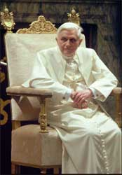 Pope-Benedict-in-White-on-Throne-2008