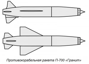 Russian Granit Missile