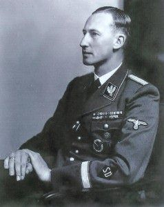 "Nazi SS/SD General Reinhard Heydrich; ""Butcher of Prague"""