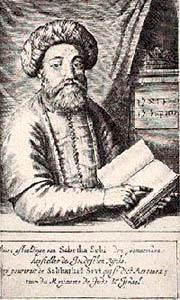 Sabbatai-Zevi-1600s