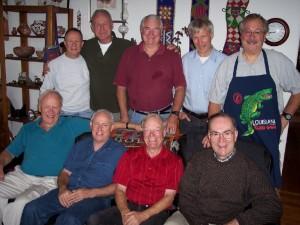 Seated: Pat Howell SJ, Greg Galluzzo SJ, Jim Christenson, Steve Sundborg SJ, 2007