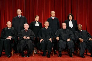 US Supreme Court Justices: Six of them Roman Catholics, 2011