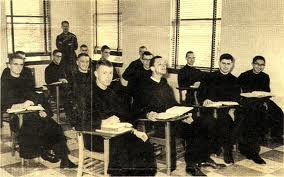 Third Row: Jesuits Dennis Codd, Greg Galluzzo, Terry McLaughlin, Don Foran, 1964