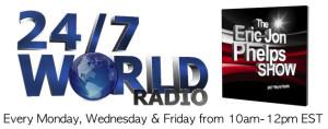 247 World Radio EJP Show Banner