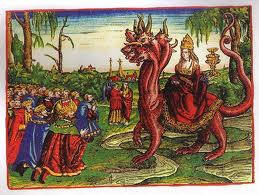 Luther's Roman Papal Whore of Revelation 17, 1540