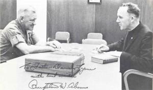 Jesuit General Pedro Arrupe's Vietnam War: Jesuit Dan Lyons advising General Abrams, 1960s